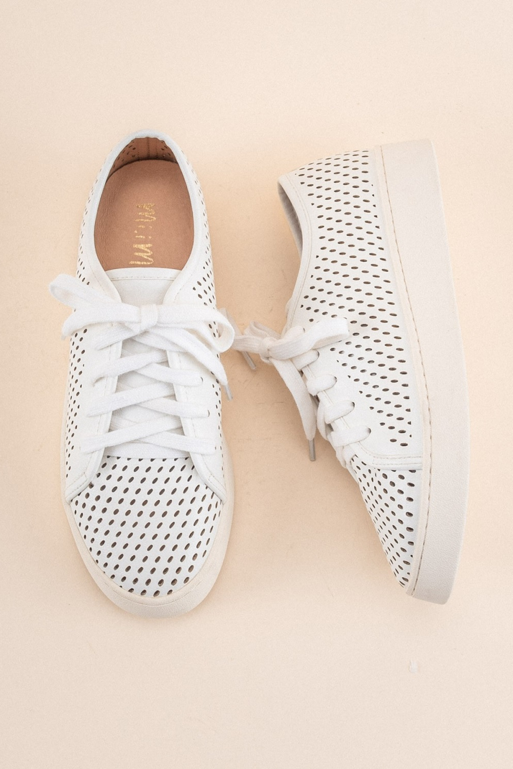 MiiM Perforated Sneaker - Front Cropped Image