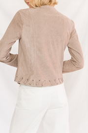 Mystree Perforated Suede - Front full body