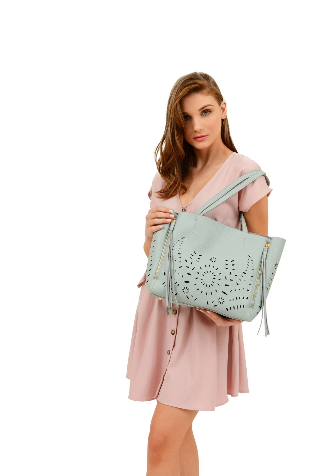 Mellow World perforated tote - Main Image