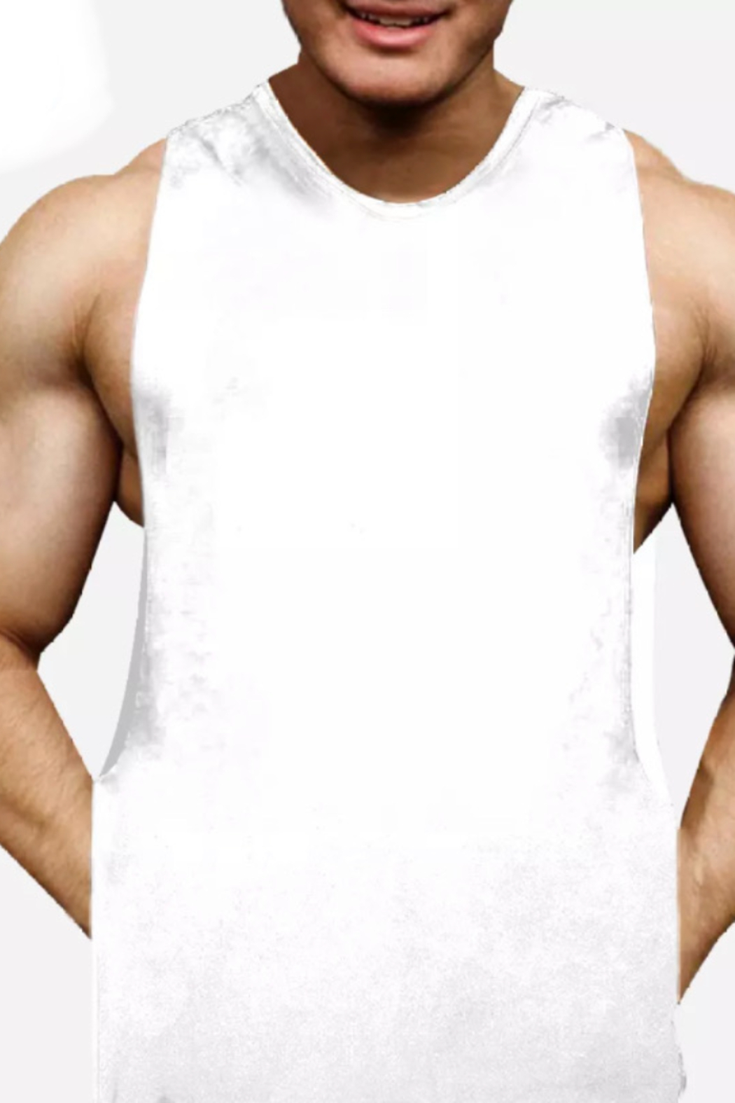 umgee  Performance Tank Top for Men - Front Cropped Image