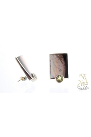 CDO  Peridot Pearl Earrings - Product Mini Image