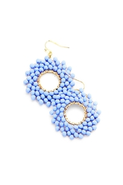 Wild Lilies Jewelry  Periwinkle Beaded Earrings - Product Mini Image