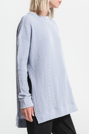 Others Follow  Periwinkle Long Sleeve Thermal Top - Side cropped