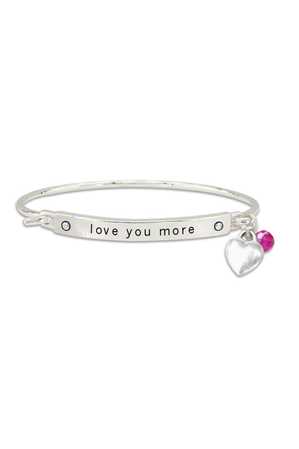 Periwinkle By Barlow Love You More Bracelet Front Cropped Image
