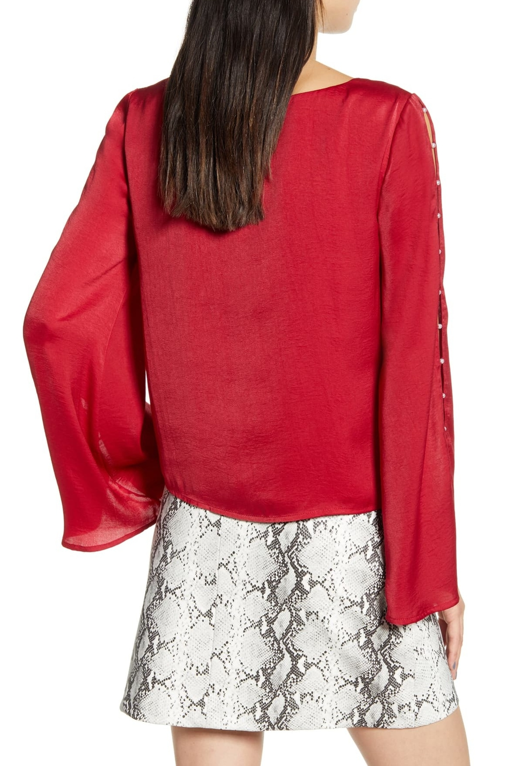 Cupcakes & Cashmere Perlata Blouse - Front Full Image
