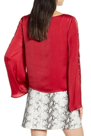 Cupcakes & Cashmere Perlata Blouse - Front full body
