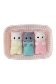 Calico Critters Persian Cat Triplets - Front cropped