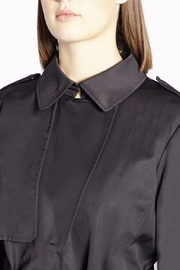 Persona by Marina Rinaldi Classic Waterproof Trenchcoat - Side cropped