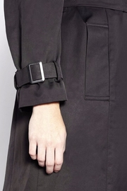Persona by Marina Rinaldi Classic Waterproof Trenchcoat - Back cropped