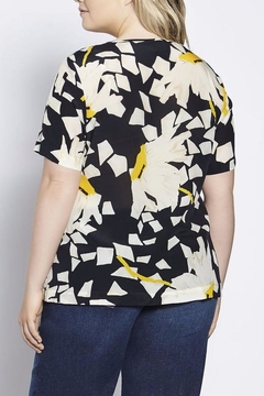 Shoptiques Product: Printed Silk Top