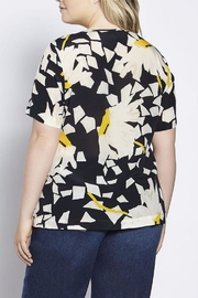 Persona by Marina Rinaldi Printed Silk Top - Product Mini Image