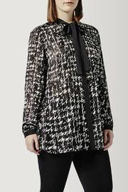 Persona by Marina Rinaldi Printed Satin Tunic - Product Mini Image