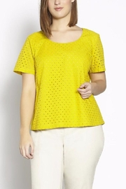 Persona by Marina Rinaldi Summer Cotton Top - Front cropped