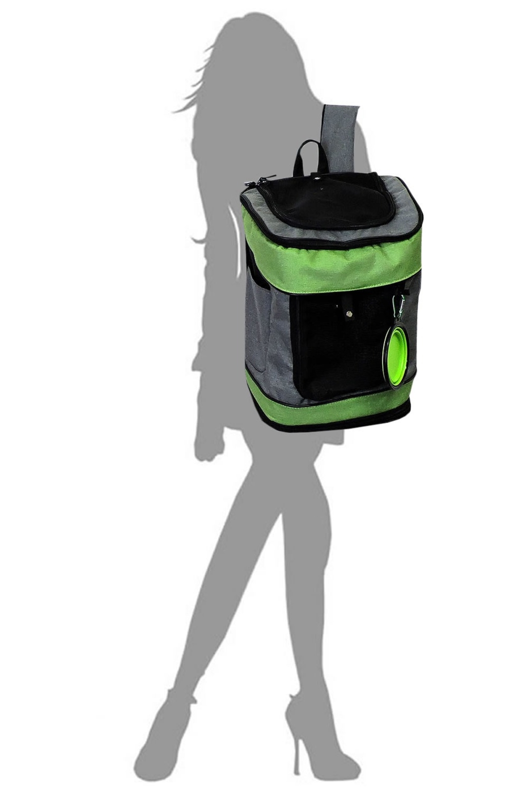 Lyn-Maree's  Pet Carrier Backpack - Side Cropped Image