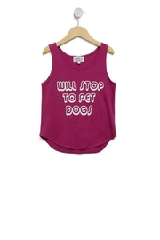 Wildfox Kids Pet Dogs Tank - Front cropped