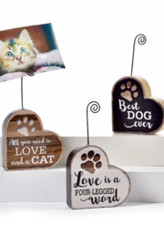 Giftcraft Inc.  Pet Picture Frame - Front full body