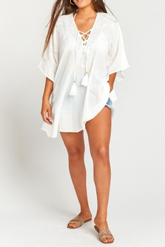 Show Me Your Mumu Peta Lace-Up Tunic - Product List Image