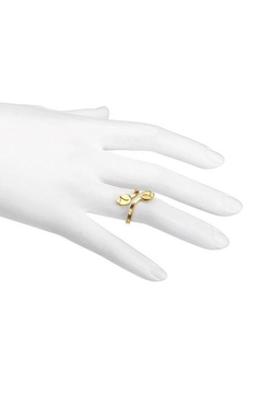 Satya Petal Gold Ring - Alternate List Image