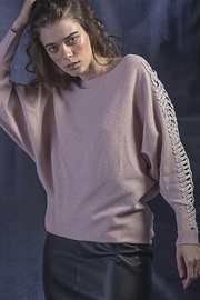 Vivante by VSA Petal Pink Sweater - Front cropped
