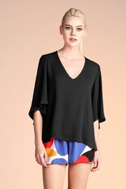 Tyche Petal Sleeve Top - Product Mini Image