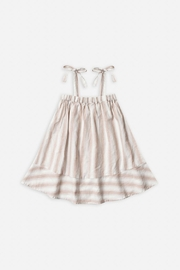Rylee & Cru Petal Stripe Shoulder Tie Dress - Product Mini Image