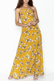 Petalroz Floral Print Maxi - Front cropped