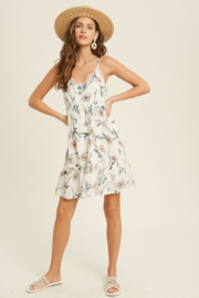 Wishlist Petals Dress - Front full body