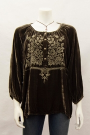 Pete & Greta Jessa Velvet Blouse - Product Mini Image