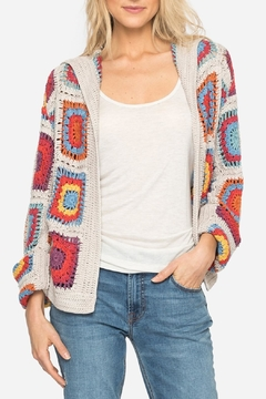 Shoptiques Product: Yvonne Crochet Cardigan