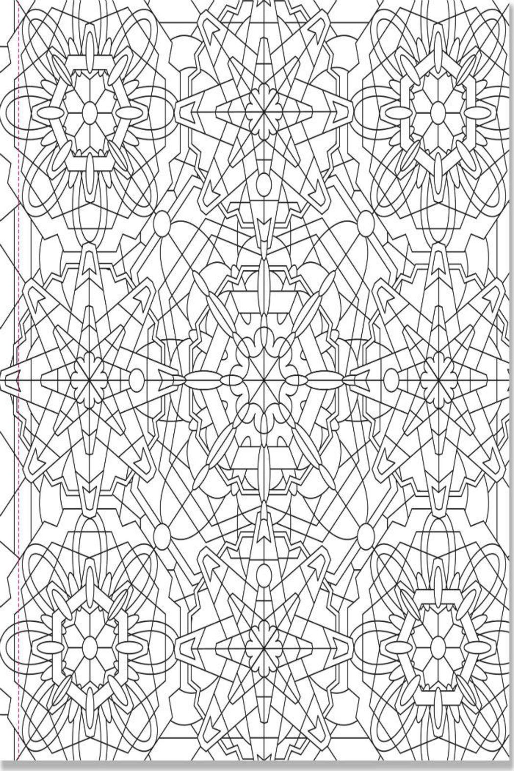 Peter Pauper Press Kaleidoscope Coloring Book
