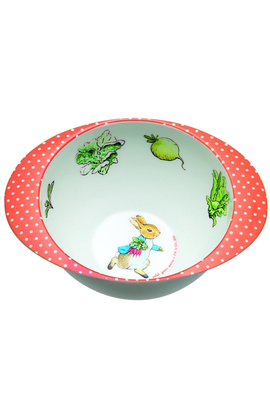 Peter Rabbit Deep Melamine Bowl - Main Image