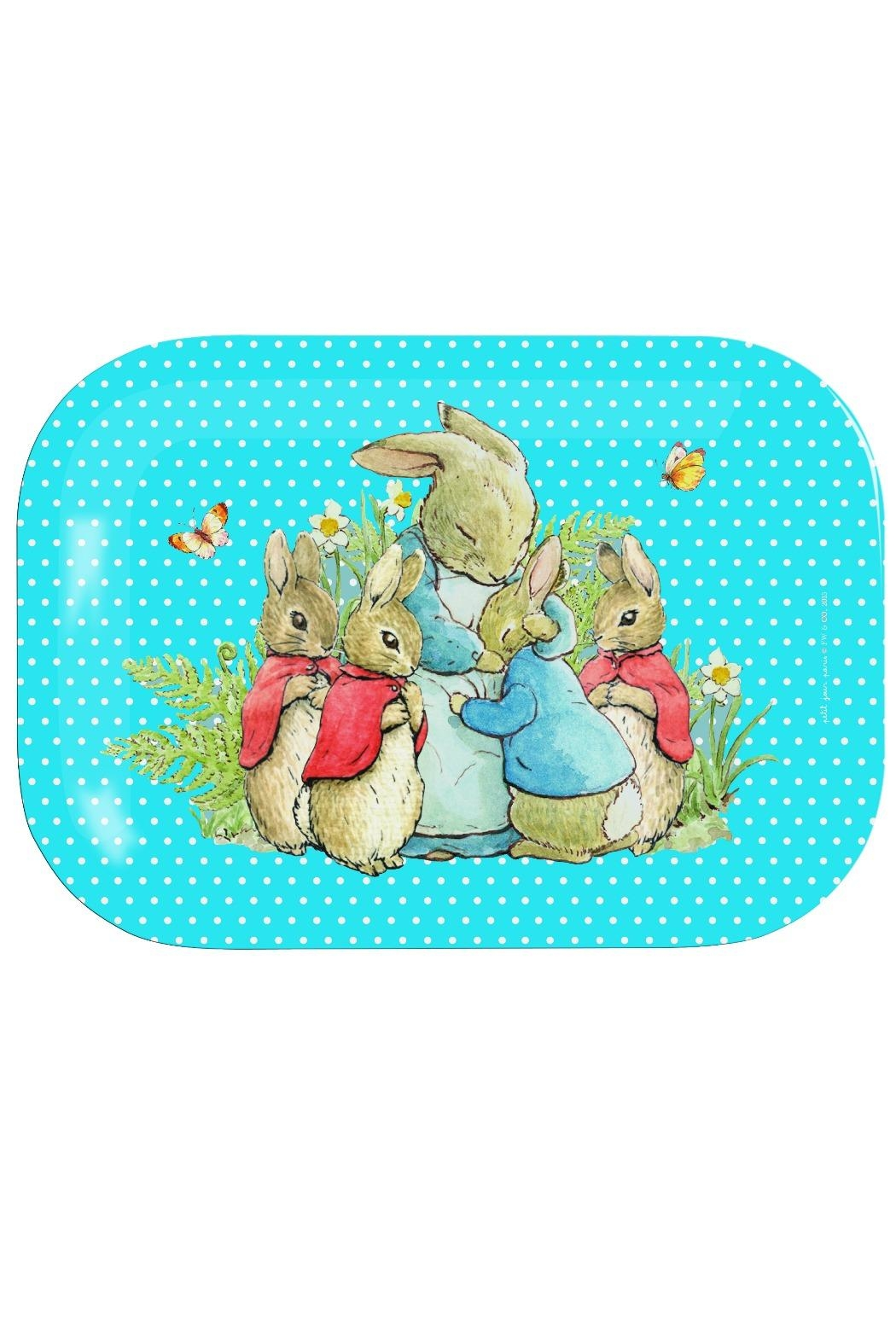 Peter Rabbit Melamine Tray Small - Front Cropped Image