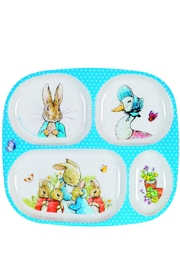 Peter Rabbit Multi Compartment Plate - Product Mini Image