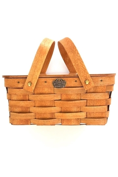 Shoptiques Product: Flamingo Picnic Basket