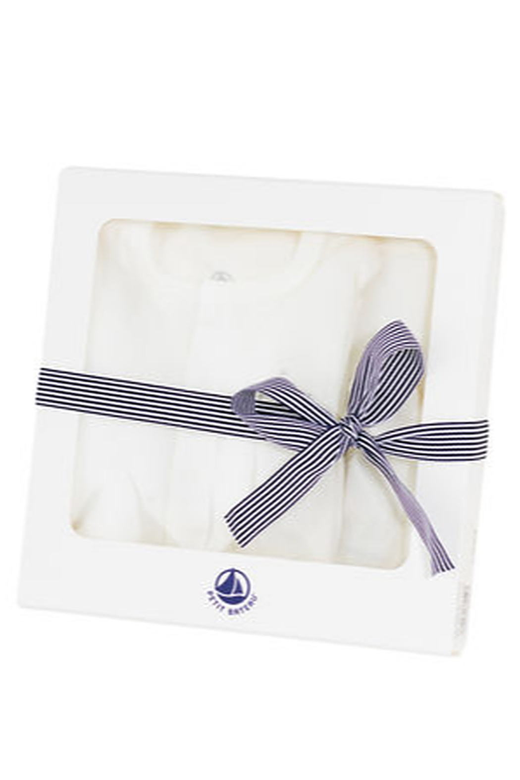 Petit Bateau Baby Gift Unisex Layette Set - Great Baby Shower Gift - Front Full Image