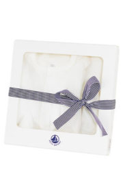 Petit Bateau Baby Gift Unisex Layette Set - Great Baby Shower Gift - Front full body