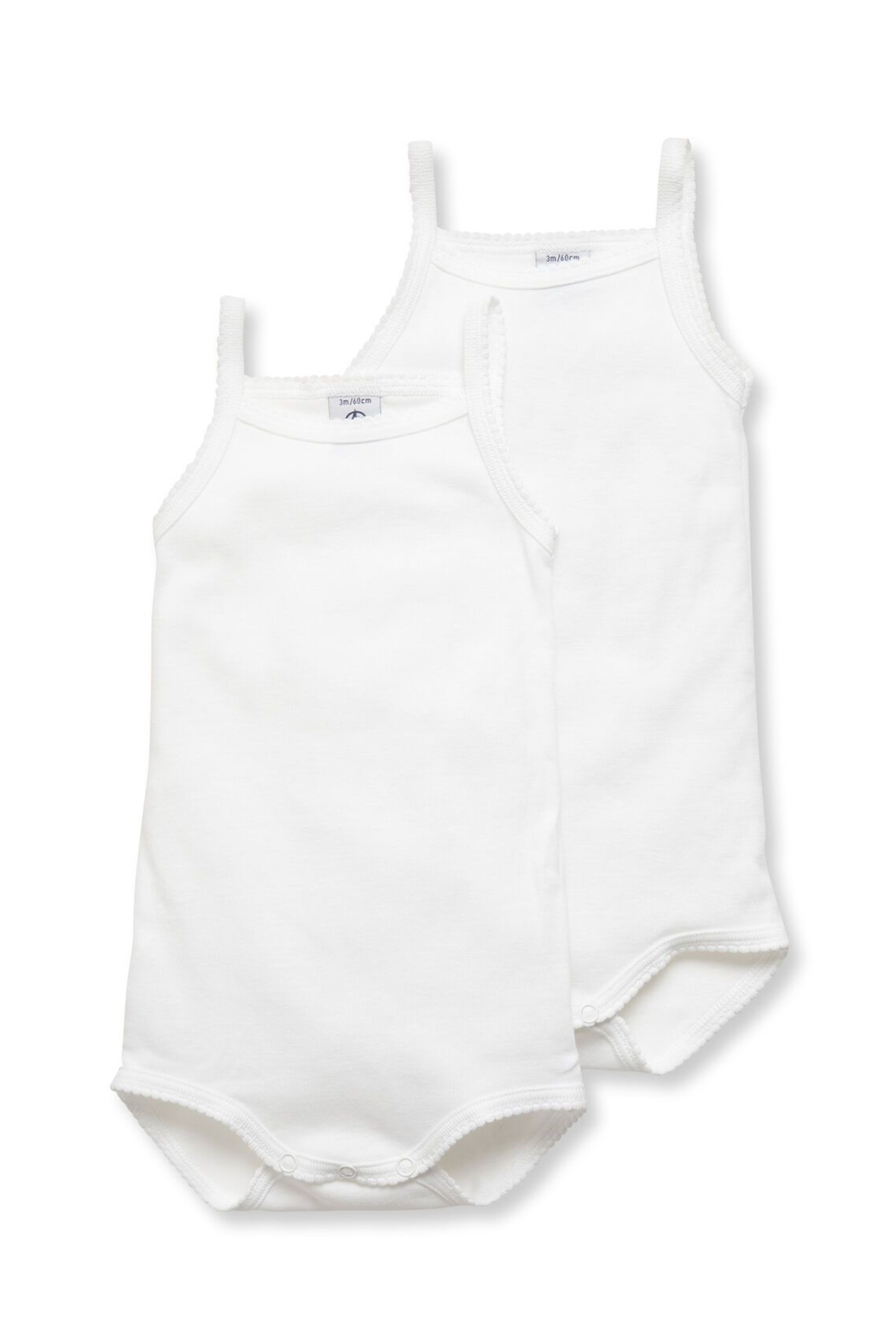 Petit Bateau Shop  Baby Girl Bodysuit With Straps at Little Loungers for a special discount - Main Image