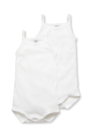 Petit Bateau Shop  Baby Girl Bodysuit With Straps at Little Loungers for a special discount - Side cropped