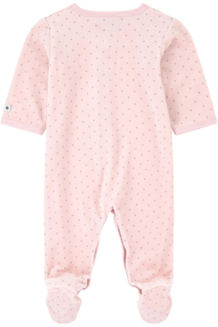 Petit Bateau Baby Pink Pajamas - Infant Sleepers - Alternate List Image