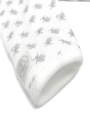 Petit Bateau  Baby Side Snap Bunny Print Footie - Side cropped
