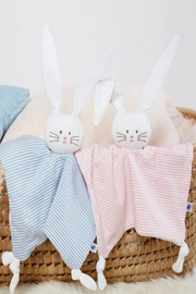 Petit Bateau  Baby Stuff Comforter Bunny Toy - Side cropped