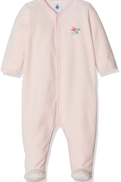 Shoptiques Product: Infant Baby Pink Sleepsuit