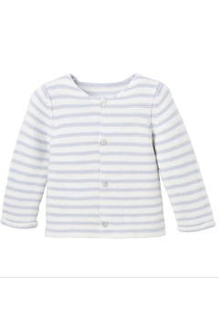 Shoptiques Product: Petit Paris Stripe Knit Baby Cardigan