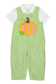 Petit Ami Pumpkin Applique Longall - Product Mini Image