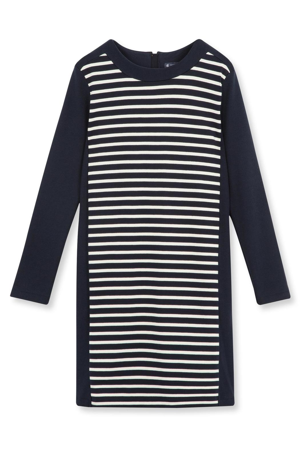 petit bateau Stripe Shift Dress - Front Cropped Image
