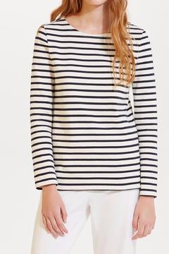 Shoptiques Product: Striped Cotton Top