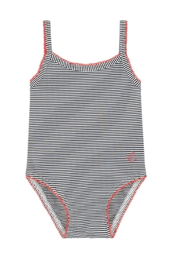 Shoptiques Product: Striped Girls Swimsuit