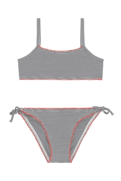 Shoptiques Product: Striped Swimsuit
