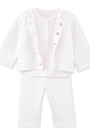 Petit Bateau Bb Three-Piece Baby Set - Product Mini Image