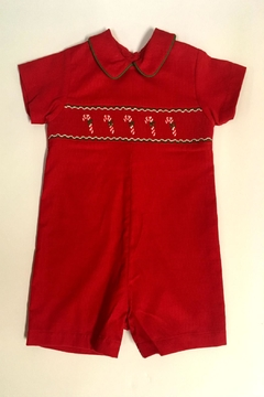 Shoptiques Product: Candy Cane Shortall